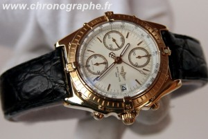 BREITLING CHRONOMAT automatique chronographe OR 18K K13047