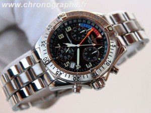 BREITLING chrono COLT Quartz TRANSOCEAN Yachting Grande Taille chronographe 1999