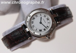 CARTIER Santos Vendome Dame Quartz acier