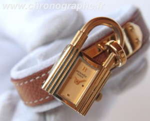 HERMES Kelly cadenas quartz