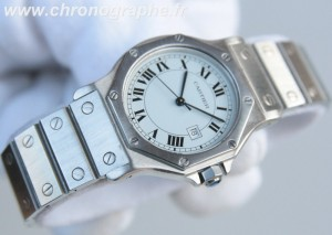 CARTIER Santos Medium Automatique acier