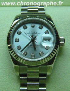 ROLEX Oyster perpetual DATEJUST lady 179179