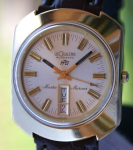 jaeger LeCoultre Master Mariner Day date