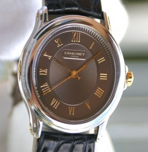 CHAUMET montre Dame ovale