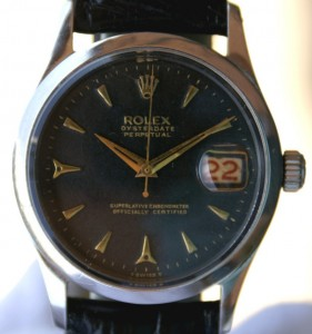 ROLEX Oyster Date perpetual automatique 6518