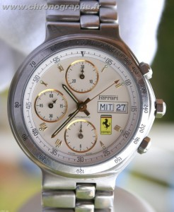 Ferrari chronographe 7750 automatique by Cartier