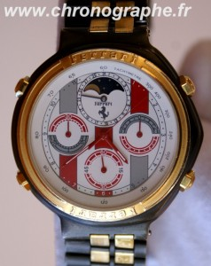 FERRARI  chrono phase de lune by Cartier