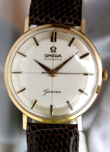 OMEGA auto OR massif 18 carats calibre 552