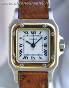 CARTIER SANTOS Dame Automatique OR/Acier