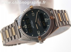 BREITLING AEROSPACE TITANE & OR F56059 - 80360