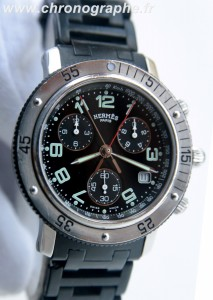 HERMES CLIPPER PLONGEUR Chrono quartz CL2.915