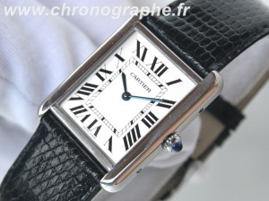CARTIER TANK SOLO Grand modèle QUARTZ 2715