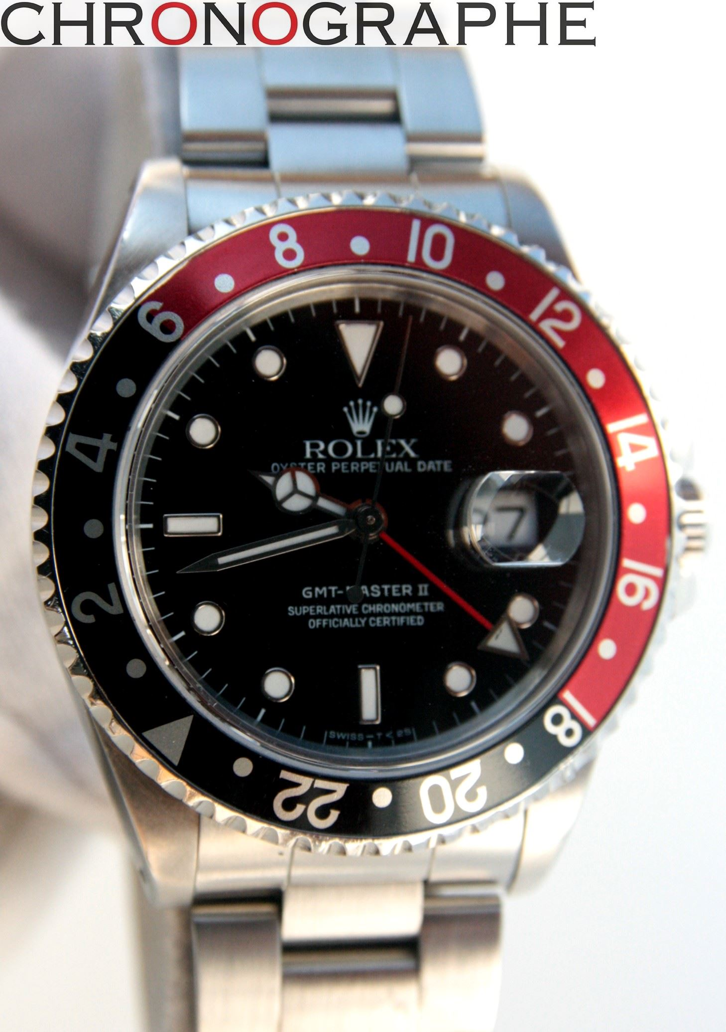 ROLEX GMT MASTER 2 Oyster Perpetual 16710
