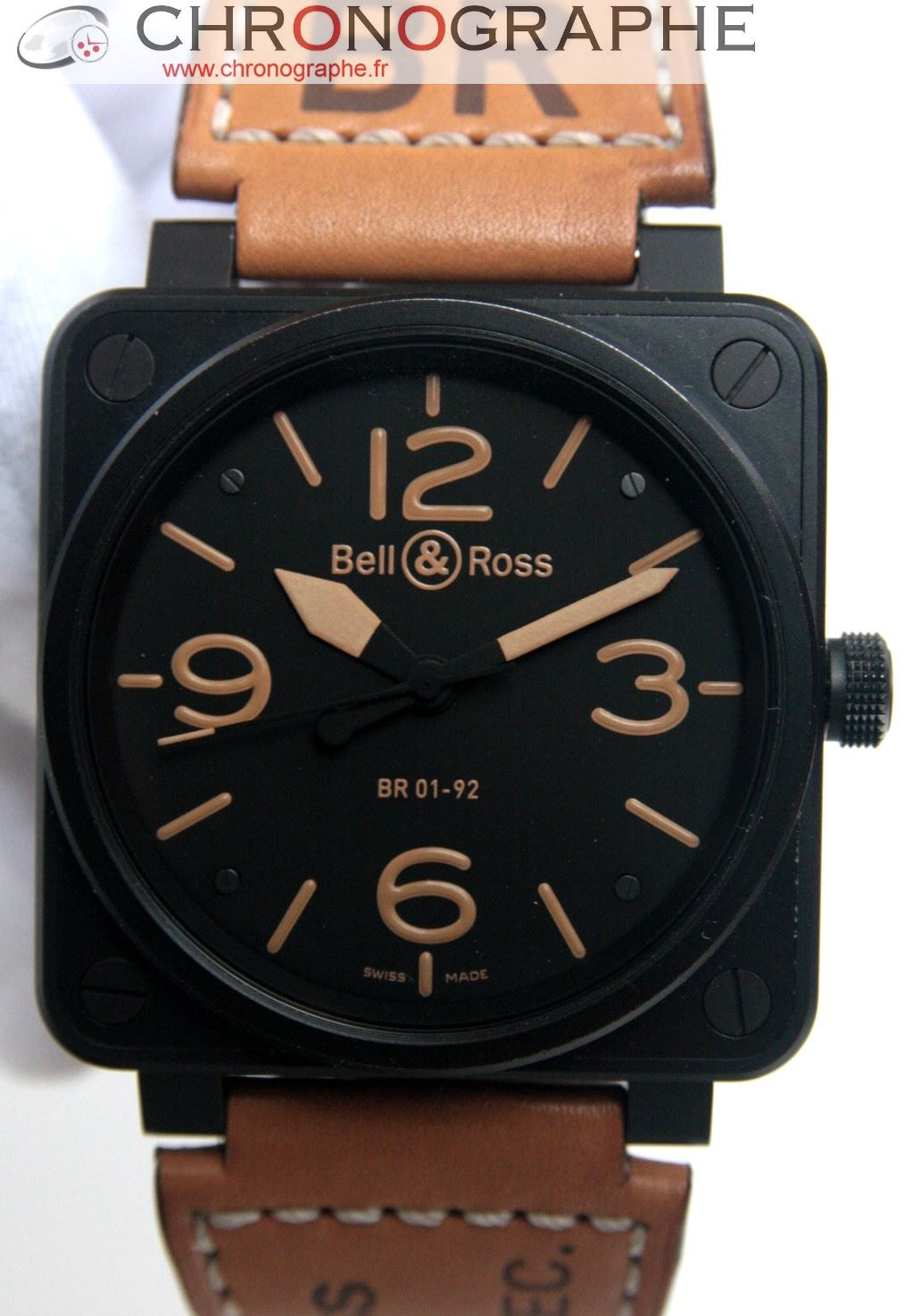 BELL & ROSS BR 01-92 SH HERITAGE automatique BR0192SH